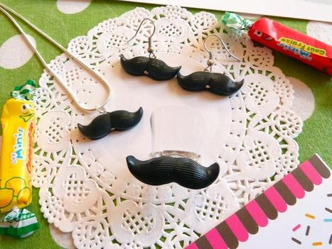Galerie des créations | Bijoux Moustaches par fimacroquer | Loisirs créatifs, DIY & activités manuelles | Scoop.it