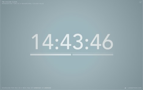 The Colour Clock | LeiaSopata | Scoop.it