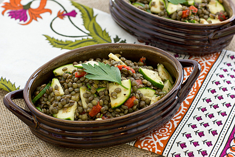 Herbed French Lentil Salad   Healthy Whole Foods   Scoop.it