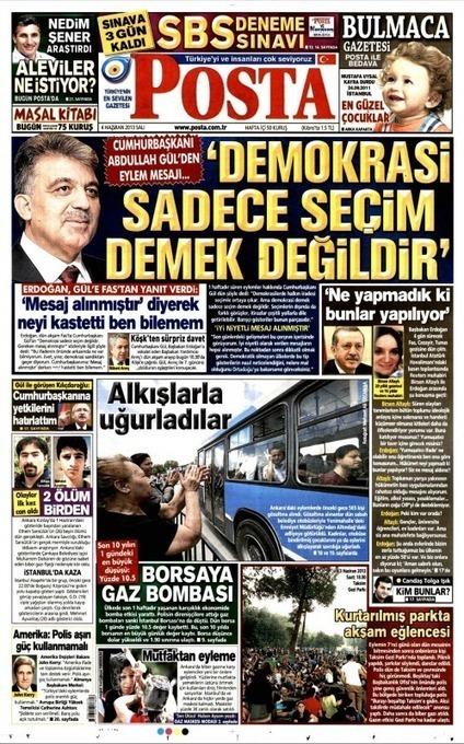 """Turquie : """"'La démocratie, ce ne sont pas seulement les élections'""""   Revue de presse - Turquie   Scoop.it"""