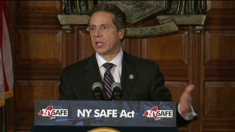 N.Y. governor signs nation's first gun-control bill since Newtown | READ WHAT I READ | Scoop.it