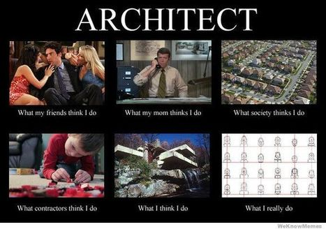 Architect   What I really do   Scoop.it