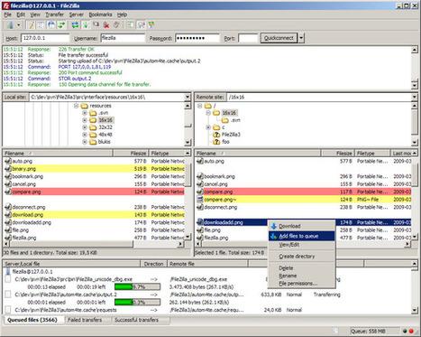FileZilla : 18 vidéos d'autoformation | netnavig | Scoop.it