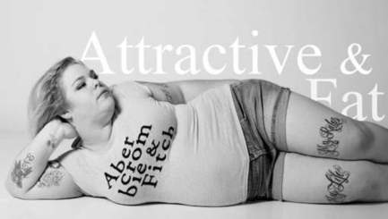 En surpoids, elle pose dans des vêtements Abercrombie & Fitch | Mais n'importe quoi ! | Scoop.it