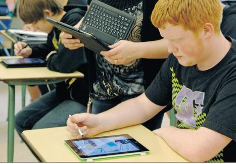 Tablets keep students engaged | New Learning - Ny læring | 3KI Math Sites | Scoop.it