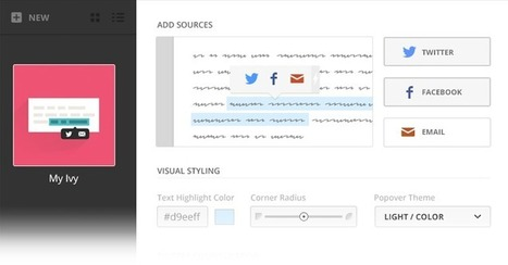 Let your visitors highlight and share your best content | Ivy | Social media kitbag | Scoop.it