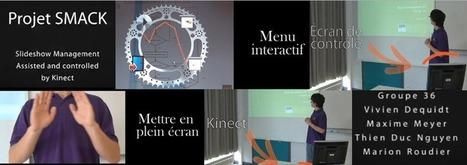 Faites défiler vos présentations par les gestes | Téléfab | Dispositifs interactifs | Scoop.it