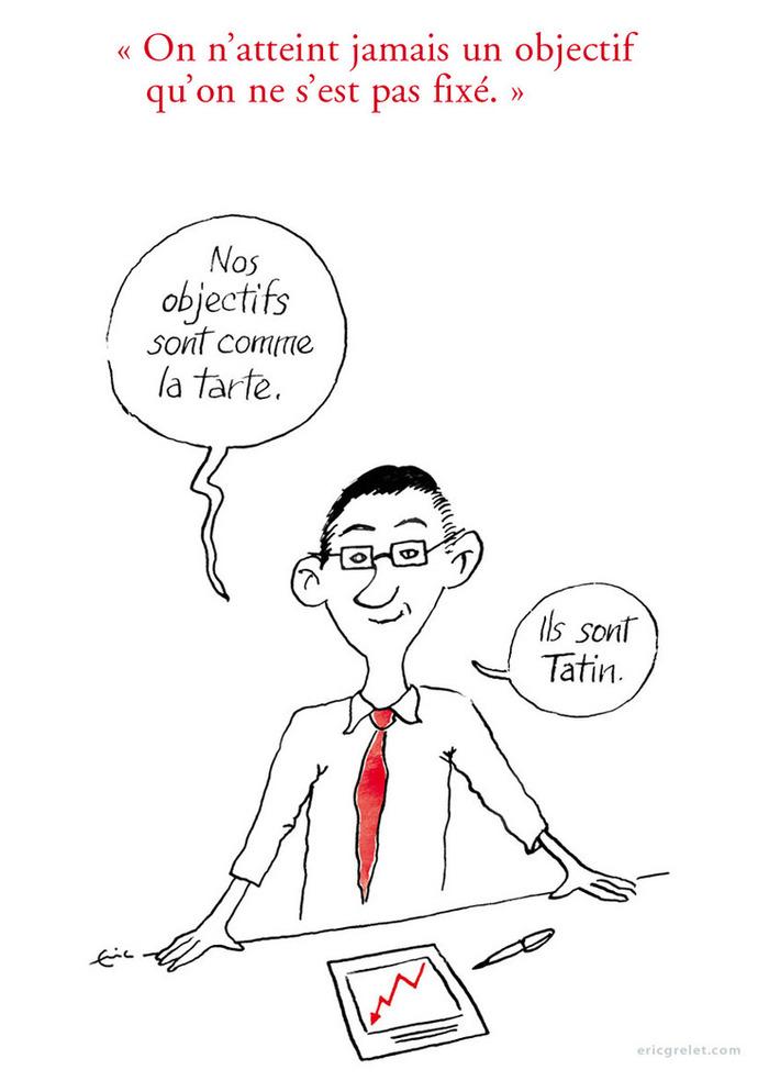 Atteindre ses objectifs, c'est pas de la tarte… | Baie d'humour | Scoop.it