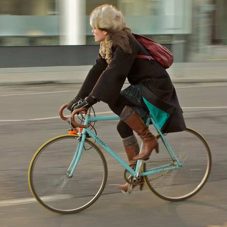 London Cycle Chic - We actually ASKED to use the Cycle Chic trademark! | aboutdiseno | Scoop.it