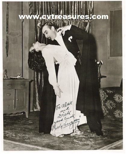 """INCREDIBLY RARE BELA LUGOSI """"DRACULA"""" SIGNED PHOT To the Writer's for Ed Wood's """"Bride of the Monster""""   Classic Hollywood   Scoop.it"""