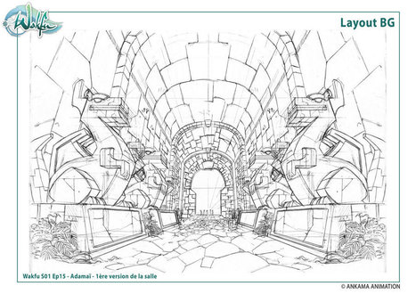 deviantART: More Like Layout BG wakfu S01 Ep18 by ~migouze | Depth and Parallax in games | Scoop.it