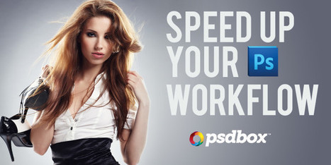 Speed up your workflow in Photoshop | The Official Photoshop Roadmap Journal | Scoop.it