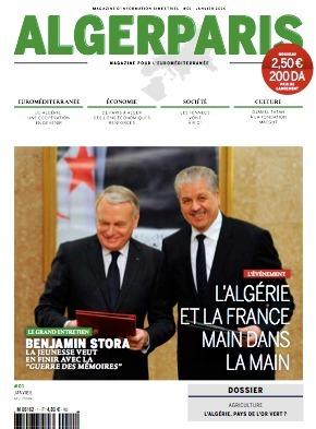 AlgerParis, un magazine traitant des relations algéro-françaises vient de paraître en France | L'Algérie et la France | Scoop.it