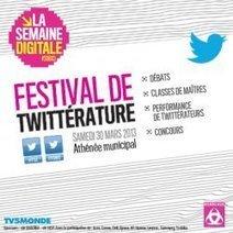 #Festival International de Twittérature - Semaine Digitale Bordeaux 2013   Digital #MediaArt(s) Numérique(s)   Scoop.it