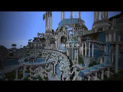 The City of Adamantis - the possibilities with Minecraft | Computer games in Classrooms | Scoop.it