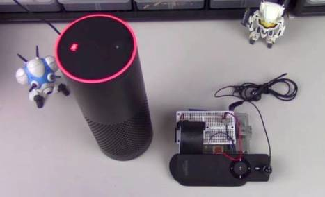 Amazon Echo: Automate tasks with a talking Raspberry Pi - Liliputing - Liliputing | Raspberry Pi | Scoop.it