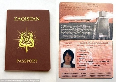 Welcome to Zaqistan! Man Creates His Own Country in Utah Desert | Strange days indeed... | Scoop.it