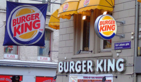 Burger King retire les sodas des menus enfants - Agro Media | Actualité de l'Industrie Agroalimentaire | agro-media.fr | Scoop.it