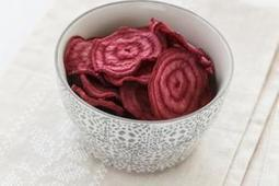 Healthy recipe: Baked beetroot chips | Natural Recipes | Scoop.it