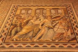 Los romanos utilizaban mitos griegos en sus mosaicos como símbolos de civilización | Mitología | Scoop.it