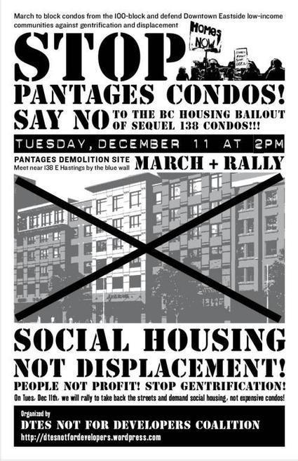 The DTES is not for Condo Developers | Downtown Eastside Vancouver | Scoop.it