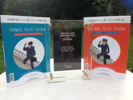 Pilote d'avion gagne le prix du livre aéronautique pour la jeunesse du Festival Des Etoiles et des Ailes   métier pilote d'avion   Scoop.it