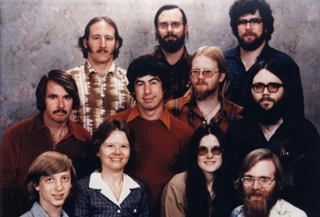 Microsoft Staff Photo, December 7th, 1978 | INTRODUCTION TO THE SOCIAL SCIENCES DIGITAL TEXTBOOK(PSYCHOLOGY-ECONOMICS-SOCIOLOGY):MIKE BUSARELLO | Scoop.it