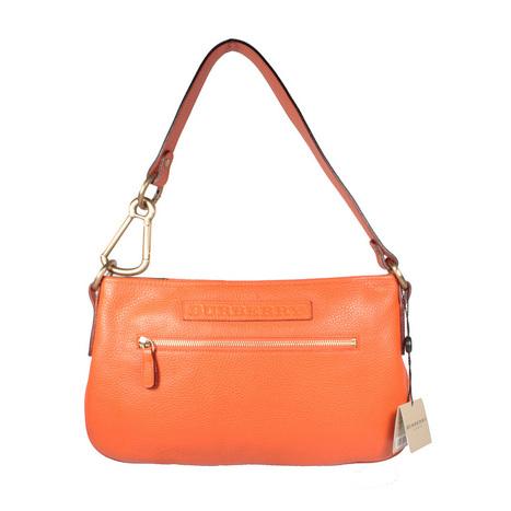 Burberry Handbag Orange Leather Shoulder Bag 11587730 (BURH100)   Online Shopping   Scoop.it
