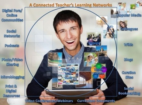 A Connected Teacher's Learning Networks | Educación a Distancia y TIC | Scoop.it