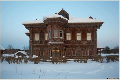 Abandoned Wooden Miracles | English Russia | Abandoned Houses | Scoop.it