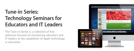 Apple Reminds Teachers And IT Pros About Free Web iPad-In-Education Webcast Series | Cult of Mac | Technology for school | Scoop.it