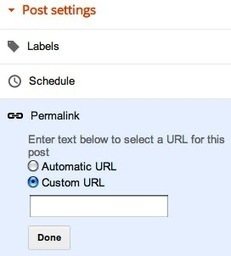 How to Add Custom Permalink in Blogger Blog for SEO ~ MyBloggerStuff | mybloggerstuff | Scoop.it