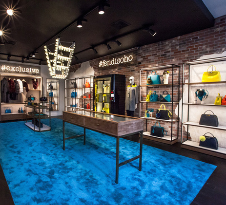 Fendi installe un pop-up store à SoHo | My Pop Corner | Scoop.it