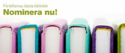 Nominera till Författarnas bästa bibliotek - Mynewsdesk (pressmeddelande) | Skolbiblioteket och lärande | Scoop.it
