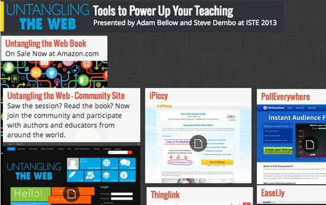 Interesting Web Tools to Power up your Teaching ~ Educational Technology and Mobile Learning | Nene´s Ed | Scoop.it