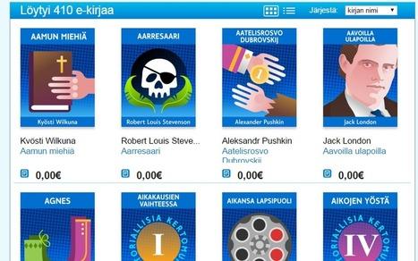 Näitä e-kirjoja luetaan, kun ei haluta maksaa | E-kirjat | Scoop.it