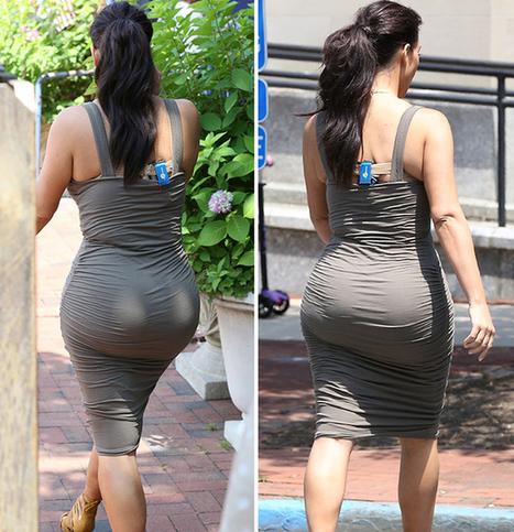 Kim Kardashian Has A Huge Butt   Celebrity Gossip   Scoop.it
