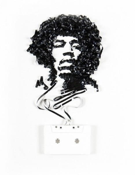 The Ghost in the Machine: Famous Celebrities Made from Old Film and Tape | Navigate | Scoop.it