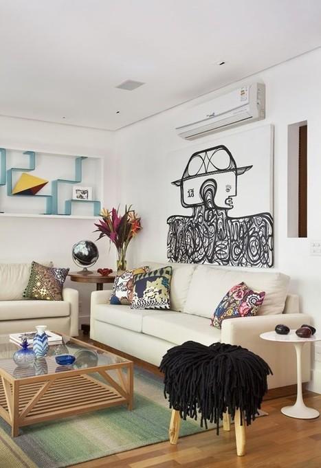 Un appartement de célibataire à Ipanema | | PLANETE DECO a homes worldPLANETE DECO a homes world | Immobilier | Scoop.it