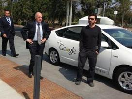 NBC Bay Area : Gov. Signs Driverless Car Bill At Google | leapmind | Scoop.it