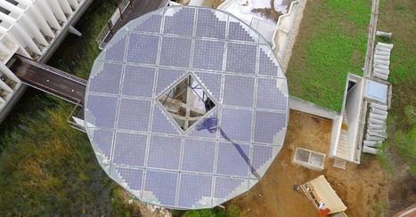 Un arbre photovoltaïque géant pour l'Aquarium de Mora | Énergie et + | Scoop.it