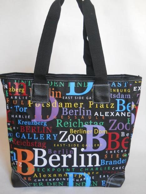 Berlin Umhänge Tasche; Design Berlin Motive, Mode Hauptstadt | Berlin Souvenirs, Geschenke und Sri Lanka Ayurveda  #Shopping | Scoop.it
