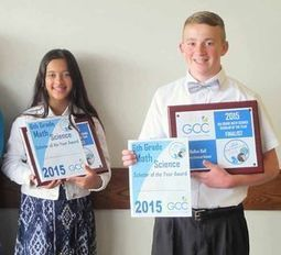 GCC Celebrates Math Science Scholars of the Year - The Daily News Online | CLOVER ENTERPRISES ''THE ENTERTAINMENT OF CHOICE'' | Scoop.it
