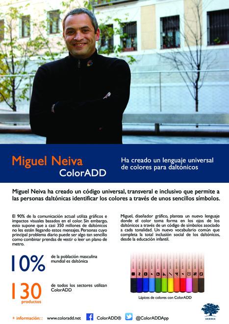 Miguel Neiva - ColorADD | Presentación #FellowsAshoka | Scoop.it