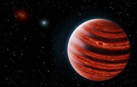 Exoplanètes: Une jeune Jupiter découverte avec une méthode inédite | Beyond the cave wall | Scoop.it