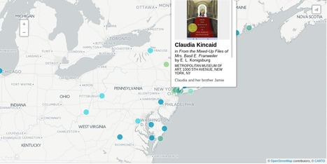 Mapping the Homes of the Heroes of Children's Literature | Magpies and Octopi | Scoop.it