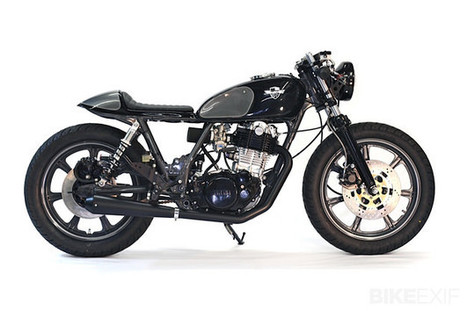 Yamaha SR500 by Chappell Customs | Cafe Racers | Scoop.it