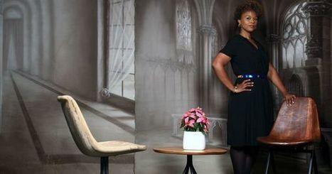 La chaise design de la pasionaria du bois africain et de l'ébéniste de Mobutu | CODIFAB | Scoop.it