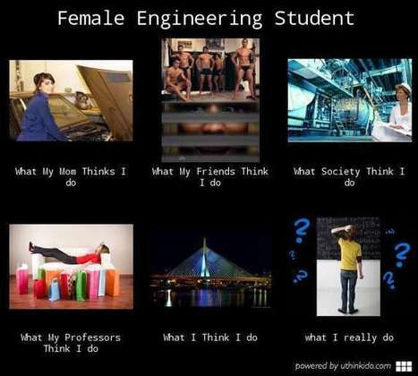 Female Engineering Student | What I really do | Scoop.it