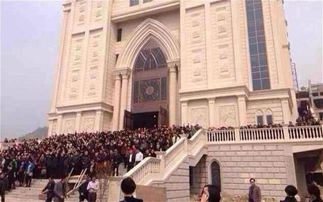 The Tablet - News   Church Demolition Threat Sparks Sit-In in Wenzhou, China   Scoop.it